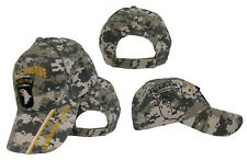 Army 101st Airborne Screaming Eagles Camo Shadow Embroidered Cap CAP626C Hat