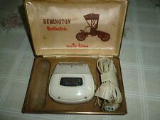 """Rasoio elettrico """" REMINGTON ROLLECTRIC """"per auto e casa, con scatola originale."""