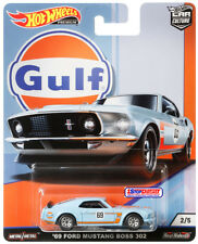 HOT WHEELS 2019 CAR CULTURE GULF RACING - 69 FORD MUSTANG BOSS 302 - PRE ORDER