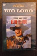 DVD western rio lobo neuf emballé 1970 avec john wayne