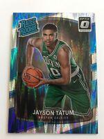 2017-18 Panini Optic Jayson Tatum Rated Rookie Shock Variant Boston Celtics RC