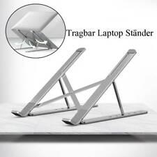 Verstellbarer Aluminium Laptop Ständer Klappbarer Notebook Tablet Tischhalter DE