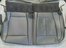 2015 - 2019 OEM FORD F150 TAKEOFF REAR DRIVER BOTTOM LEATHER SEAT UPHOLSTERY