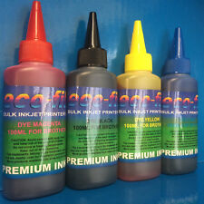 400ml ECOFILL Dye Printer Refill Ink For Brother MFC J 680 880 DCP J 4120 562 DW