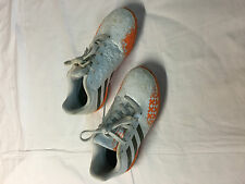 Kinder Adidas Weiß/Orange Fußballschuhe Noppen Style PREDITO Kids