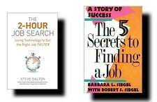 √LOT:2 HOW TO FIND A JOB BOOKS IN 2 HOURS w/TECHNOLOGY+5 SECRETS GETTING SUCCESS