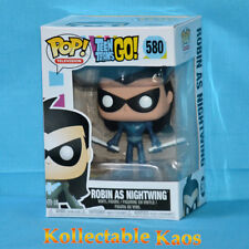 Teen Titans Go - Robin as Nightwing With Baby Pop Vinyl Figure