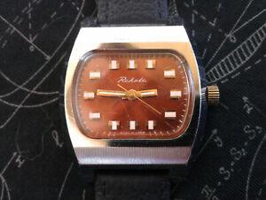 Rare Vintage USSR Raketa 2609.HA 19 Jewels Mechanical Men's Russian Wristwatch
