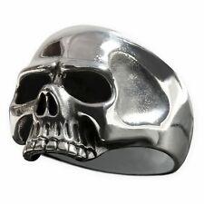Totenkopf Ring 925 Silber Keith Richards Herren Biker Rocker Schmuck Skull