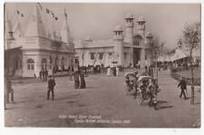 Indian Palace Franco British Exhibition London 1908 RP Postcard 784b