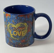 Penzy's Choose Love Coffee Mug, I Will Vote 11-3-20 On Bottom