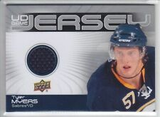 2010-11 UD SERIES 2 TYLER MYERS GAME JERSEY GJ2-TM Game Used Upper Deck Jets