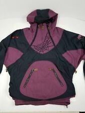 Vintage 90s Spyder Stryke Anorak Ski Jacket Parka Winter SnowBoard Mens M Rare!