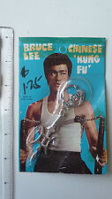 RARE - 1970s Bruce Lee Keychain Halberd - SEALED