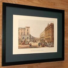 The Quadrant, Regent Street London - Walker -20''x16'' framed vintage london