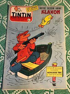 JOURNAL TINTIN 392 France (1956) BD ancienne