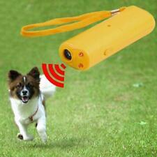 Trainer Ultrasonic Anti Barking Device Train Dog Repeller Control Yellow / Black