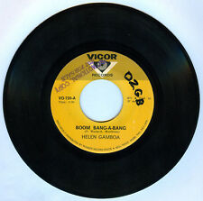 Philippines HELEN GAMBOA Boom Bang-A-Bang OPM 45 rpm Record