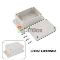 IP66 Waterproof 100x68x50mm(L*W*H) Plastic Electronic Project Box Enclosure Case