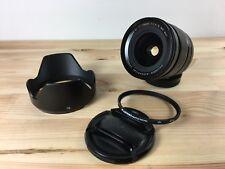 Fujifilm Fujinon Nano GI XF 16mm f1.4 R WR lens + lens hood + Hoya UV filter