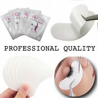 1-50 Pairs Eyelash Extensions Pads Under Eye Gel Pads Lint Free Eye Patches   UK
