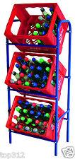 Flaschenkastenständer Getränke Kasten Ständer Regal Kisten Kistenregal Schrank