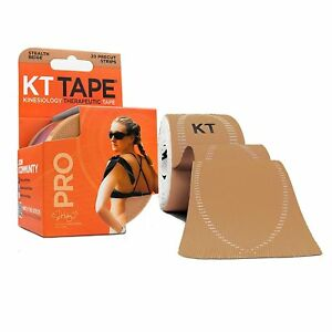 KT Tape Pro Synthetic (Pre-cut 20 strips) | Fitness | Sports | Running | Colors