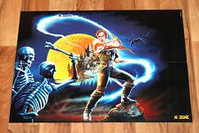 1999 Konami Castlevania / the legend of Zelda Rare Poster 58x42cm Ninteno 64 N64
