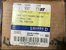 Square D Class 9007 FTUD7 Heavy Duty Foundry Limit Switch Series D NEW NOS