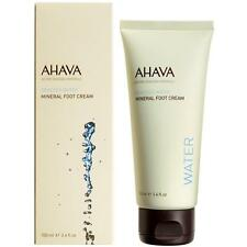 AHAVA MINERAL FOOT CREAM DEADSEA WATER BASED MINERAL-RICH DAILY MOISTURE 100ML