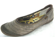 Keds Shoes Sz 6 Womens Ballet Flats Loafers Brown Speckled Leather