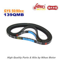 TZ-37 50cc 80cc Drive Belt 729 17.7 GY6 Parts Chinese Scooter 139QMB Motorcycle