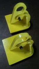 Lot of 2 Plate lifting  clamp SAFETY CLAMP INC. Model HL, 1/2 ton , 0 to 1 inch.