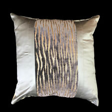 Tiger texture eucalyptus throw pillow