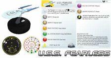 U. S. S. sans Peur #101 Star Trek: Tactics II 2 WizKids Heroclix Fédération