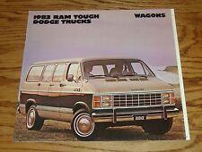 Original 1983 Dodge Wagon Sales Brochure 83 Ram B150 B250 B350