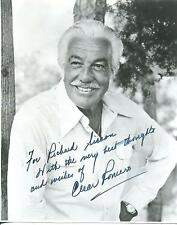 "CESAR ROMERO ""THE JOKER"" / ""BATMAN"" ""THE LUCY SHOW"" ACTOR SIGNED PHOTO AUTOGRAPH"
