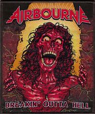 AirbournE Limited Edition breakin'outta hell 12 collor woven patch/aufnäher