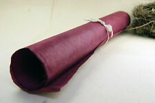 "Handmade Gift Wrapping Paper Sheets Lotka 20"" x 30""  Burgundy Red Wine"