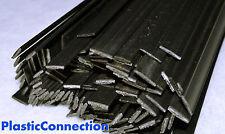 Stk./PBT Plastik schweißdrähte (8mm) schwarz, 15 stück (flache form) - Xenoy