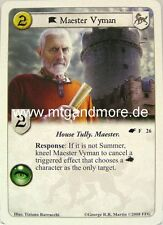 A game of thrones LCG - 1x Maestre vyman #026 - The Winds of invierno
