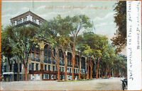 1907 NY Postcard: Grand Union Hotel - Saratoga Springs, New York