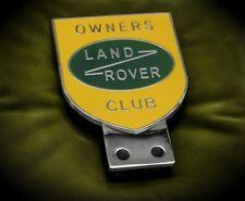 LAND ROVER BADGE PLACCA DEFENDER RANGE Series 2 Freelander Discovery Landy