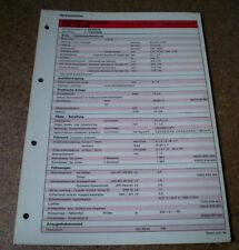 Inspektionsblatt Honda Accord Aerodeck - 2.2i - ab 1994!