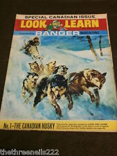 LOOK and LEARN # 274 - CANADIAN HUSKY - APRIL 15 1967