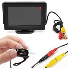 """4.3"""" Lcd Car Rear View Backup Monitor Wireless Parking Night Vision Camera Kit"""