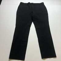 Banana Republic Sloan Curvy Fit Crop Pants Size 8 In Black A2258