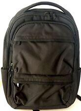 Wenger Black Five Pocket Backpack with Computer Pocket NWOT