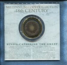 Millennium Coin Collection 18th Century Russia Catherine The Great  L-725