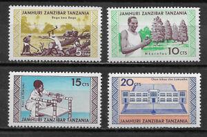 ZANZIBAR & TANZANIA , 1966 ,  SET OF 4 STAMPS , PERF , VLH , CV$2.80